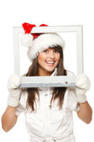 Xmas news Stock Photo