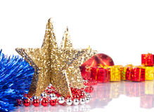 Xmas objects Royalty Free Stock Photo