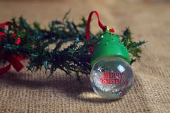 Xmas objects Royalty Free Stock Images