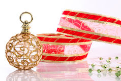 Xmas ornaments Royalty Free Stock Images