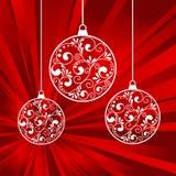 Xmas papers balls Royalty Free Stock Photo