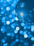 Xmas party light Royalty Free Stock Photography