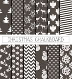 Xmas pattern paper grey Stock Photo
