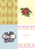 Xmas pattern set Royalty Free Stock Photography