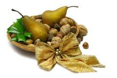 Xmas Pears Royalty Free Stock Image