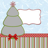Xmas photo frame Stock Photo