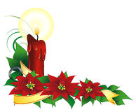 Xmas plant1.cdr Royalty Free Stock Image