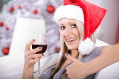 Xmas portrait Royalty Free Stock Image