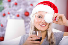 Xmas portrait Royalty Free Stock Photo