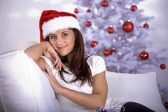 Xmas portrait Stock Image