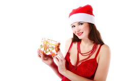 Xmas portrait Royalty Free Stock Photography