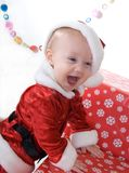 Xmas portraits royalty free stock photography