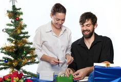 Xmas Preparations Royalty Free Stock Images