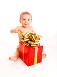 Xmas present Royalty Free Stock Photo