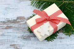 Xmas present Royalty Free Stock Images