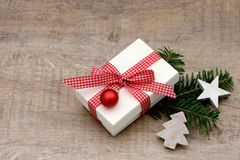 Xmas present Royalty Free Stock Photography