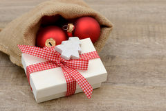 Xmas present Stock Images