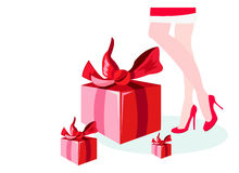 Xmas presents Royalty Free Stock Photography