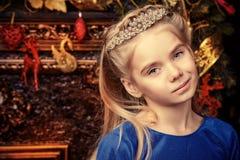 Xmas princess Royalty Free Stock Image