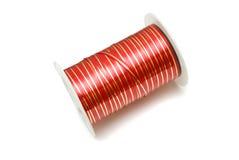 Xmas ribbon Stock Photos