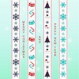 Xmas ribbon Stock Images