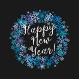 Merry Christmas and A Happy New Year congratulations Royalty Free Stock Photos