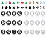 Xmas's icon Stock Images