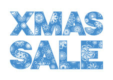 Xmas sale Royalty Free Stock Photography