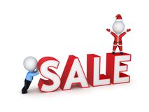 Xmas sale concept. Royalty Free Stock Photo