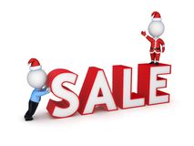 Xmas sale concept. Royalty Free Stock Photography