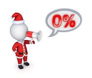 Xmas sale concept. Royalty Free Stock Image