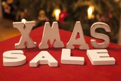 Xmas Sale Stock Image
