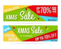 Xmas Sale Royalty Free Stock Photography