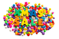 Xmas sale Royalty Free Stock Photo