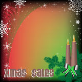 Xmas sales Royalty Free Stock Photo