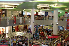 Xmas sales at Singapore Royalty Free Stock Photos