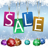 Xmas Sales Time Royalty Free Stock Photos