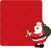 Xmas santa Stock Image