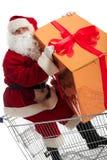 Xmas santa Stock Photo
