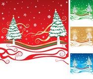 Xmas scene Royalty Free Stock Photo