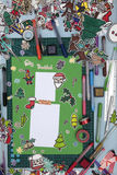Xmas scrapbook układ Obrazy Royalty Free