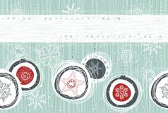 Xmas seamless banner Stock Photography