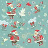 Xmas seamless pattern Royalty Free Stock Photos