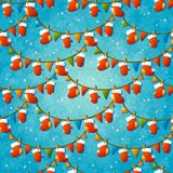 Xmas seamless pattern. Stock Images