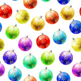 Xmas seamless pattern Royalty Free Stock Photography
