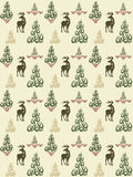 Xmas vector seamless Stock Images
