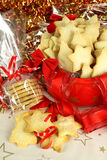 Xmas Shortbread Royalty Free Stock Photography