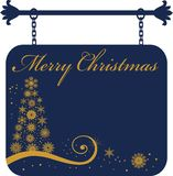 Xmas sign Royalty Free Stock Photography