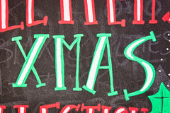 Xmas sign Royalty Free Stock Photo