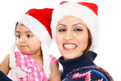 Xmas smile Royalty Free Stock Image